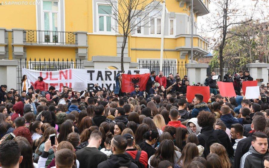 Protesta studentore, para Ministrisë së Arsimit