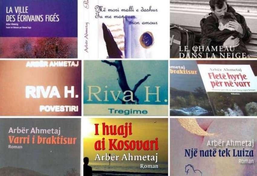 Arbër Ahmetaj - Disa prej veprave të Autorit