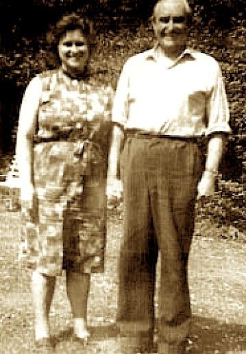 Meave de Burgh dhe i shoqi Charles Davison,