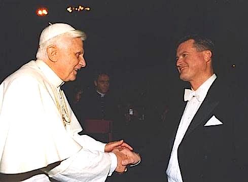 Papa Ratziner dhe dirigjenti Thielemann