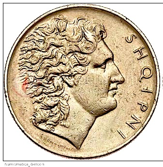 Monedha Shqiptare - Leku 1926 - Aleksandri i Madh