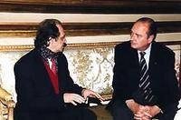 Presidentet Rugova & Chirak, 13 dhjetor 1998 - Palais de l'Elizée Paris