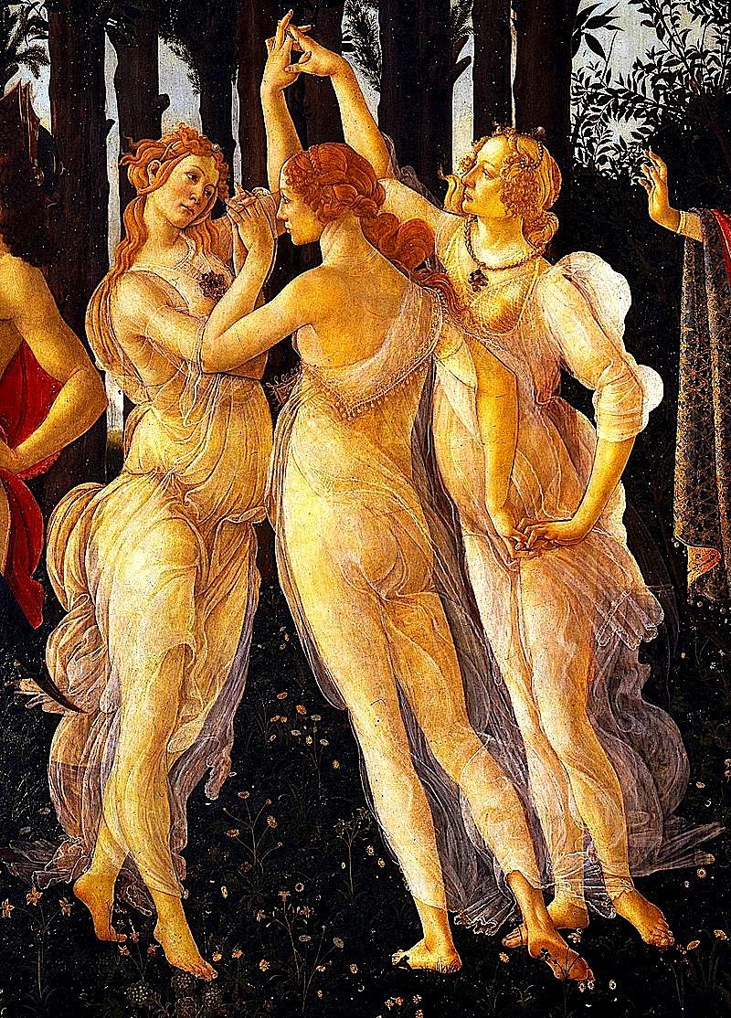 Sandro Botticelli - Tre Hiret