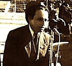 Anton Mazreku gjatë nji kometimi sportiv