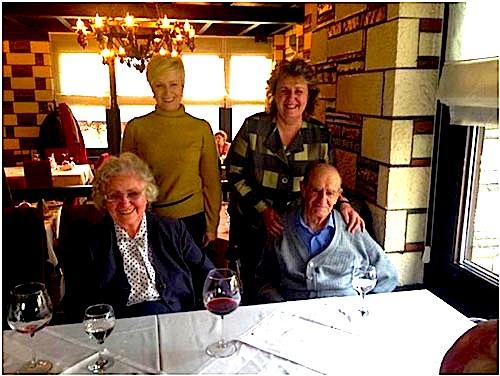 Petraq Kolevica dhe familja e tij në 80 vjetor