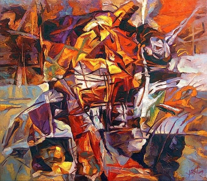 Keshtu foli Zarathustra - Pikturë nga Yury Fomichev