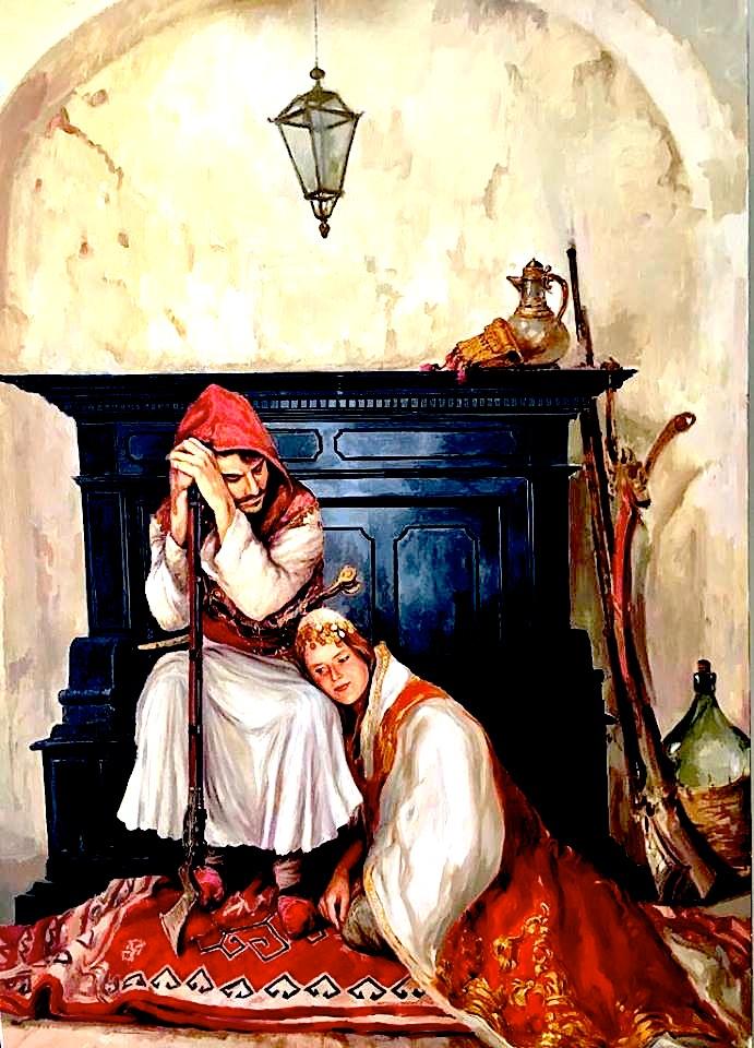 Pikturë nga Agim Sulaj
