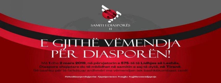 Samiti i II i Diasporës - Tiranë 2019 - Ftesa