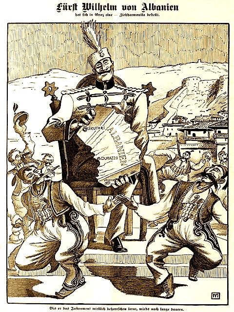Shqipëria - nën fatin e fqinjëve (1913)