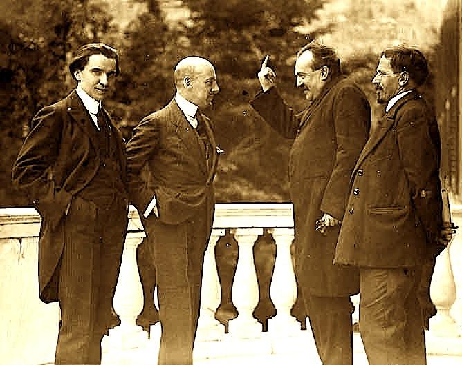Gabriele D'Annunzio dhe Ceccardo Roccatagliata Ceccardi