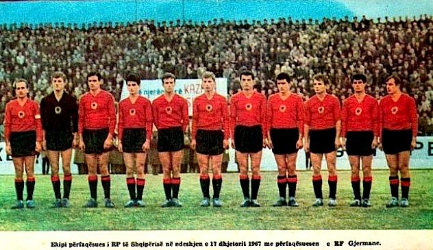 17 dhjetor 1967 - Shqipëri -R.F.GJ - 0-0