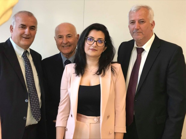 Ana Radi - mes Luçiano, Alfred dhe Jozef Radi