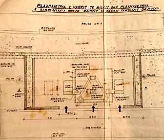Planimetria e varrit dhe sistemimi i bustit te Bilal Xhaferrit
