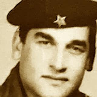 Maksim Kaloti, ushtar ne Sazan