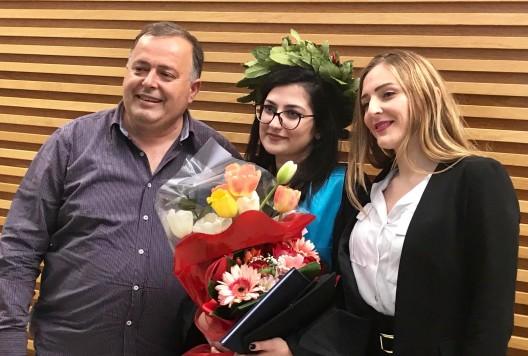 Ana Radi me Estelën dhe Rudolfin