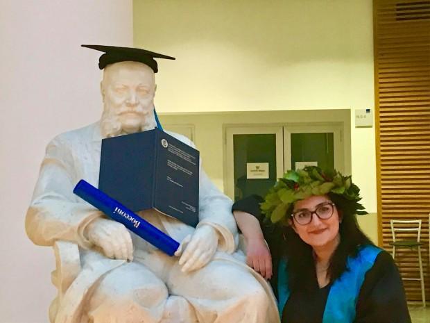Ana Radi - Laureata në Bocconi, 26 mars 2019