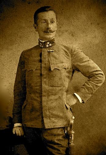 Murat Beg Toptani (1867-1918) Veshje Austro-hungareze