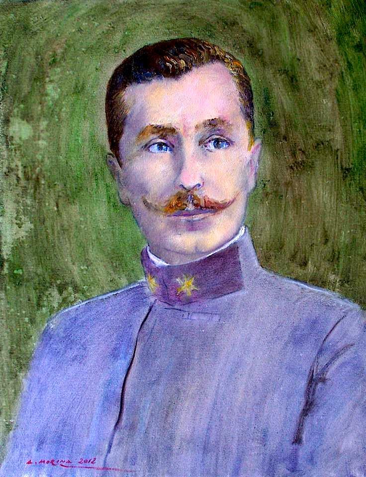 Murat Toptani (pikturë e Arben Morinës)