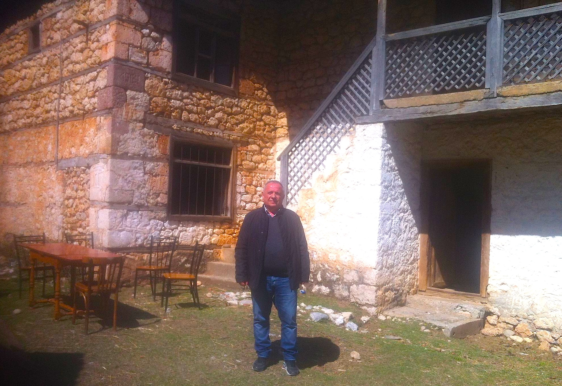 Yzedin Hima te kulla e Blloshmëve në Bërzeshtë