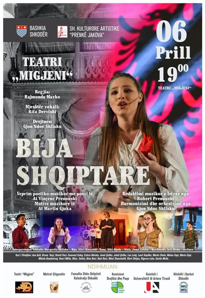 """""""Bija Shqiptare"""" Shkodër  - 6 prill 2019"""