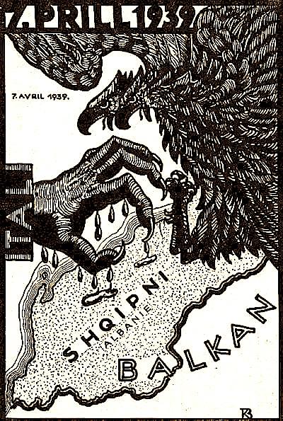 7 prill 1939 - Pushtimi i Shqipërisë