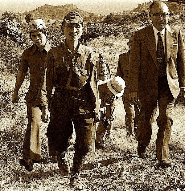 Hiro Onoda - Dorezohet mbas 30 vitë në luftë