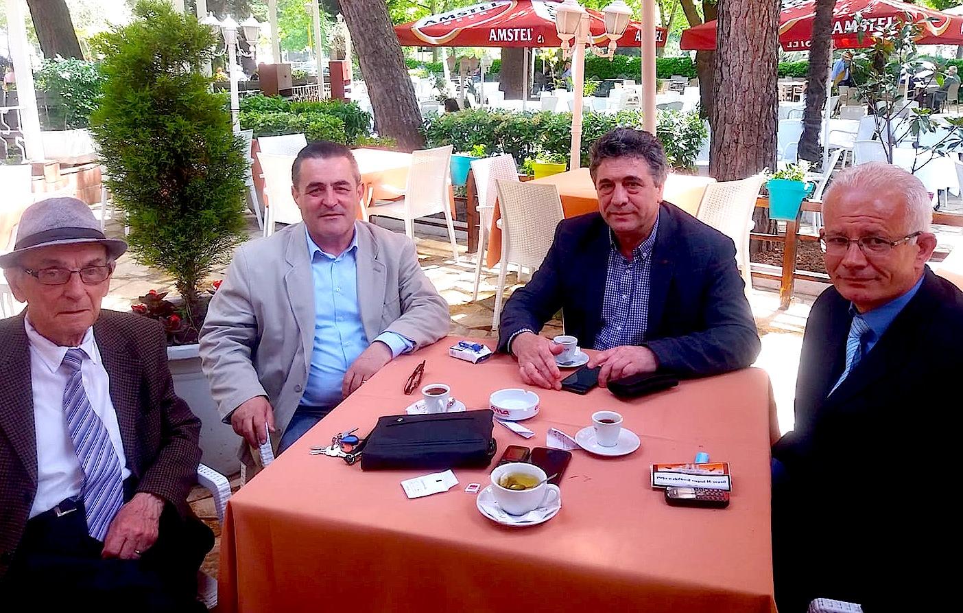 Celo Hoxha, Agron Tufa, Nebil Cika, Reshat Kripa