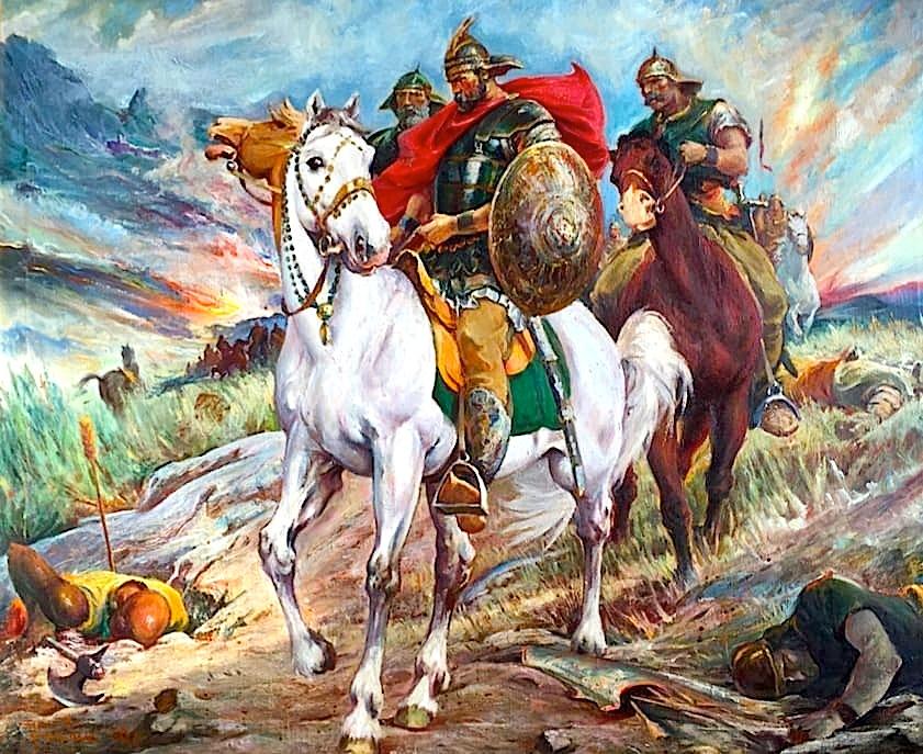 Gjergj Kastrioti - Skënderbeu - në betejë