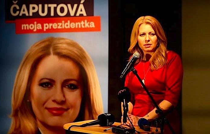 Zuzana Caputova - Presidente e Sllovakisë