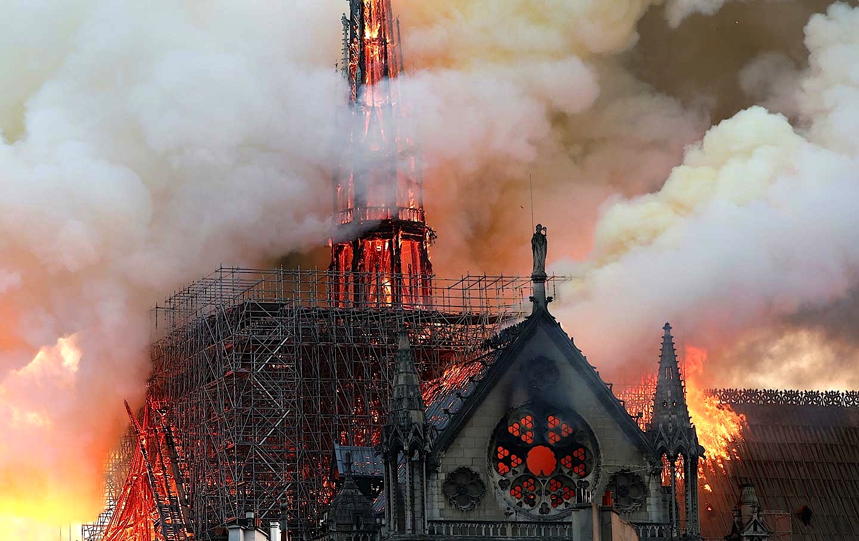 Notre Dame - 15 prill 2019