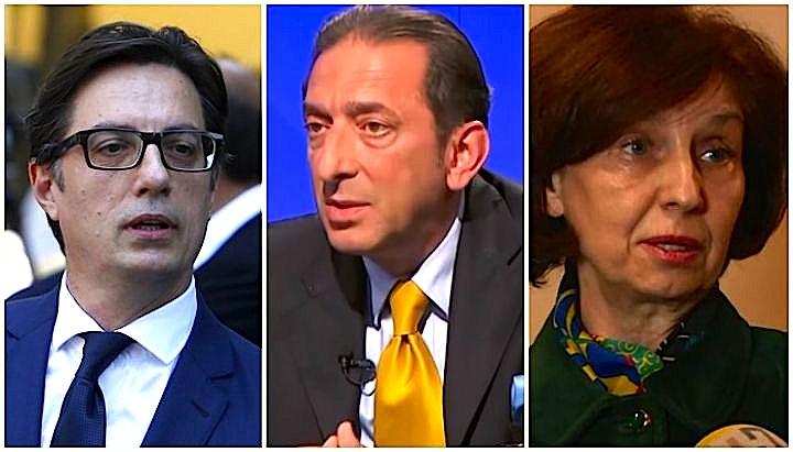 Kandidatët për President të Maqedonisë së Veriut: Pendarovski, Reka, Siljanovska - 21 Prill 2019