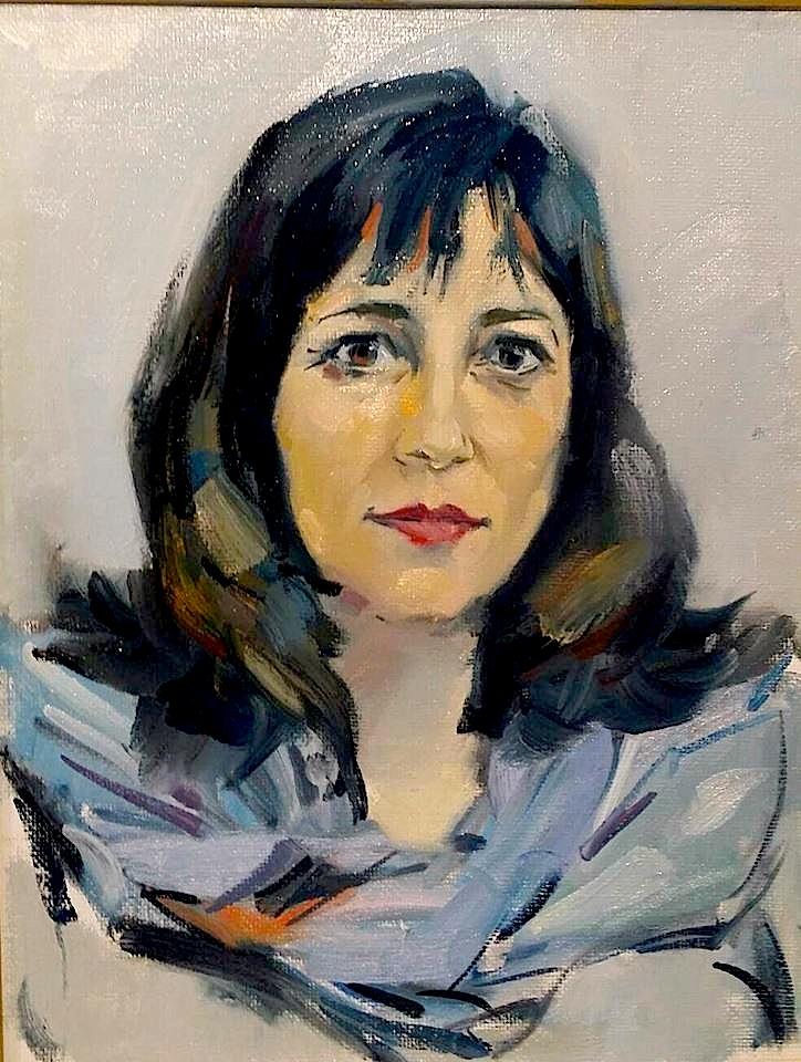 Gentiana Kone - Pikturë nga Buron Kaceli