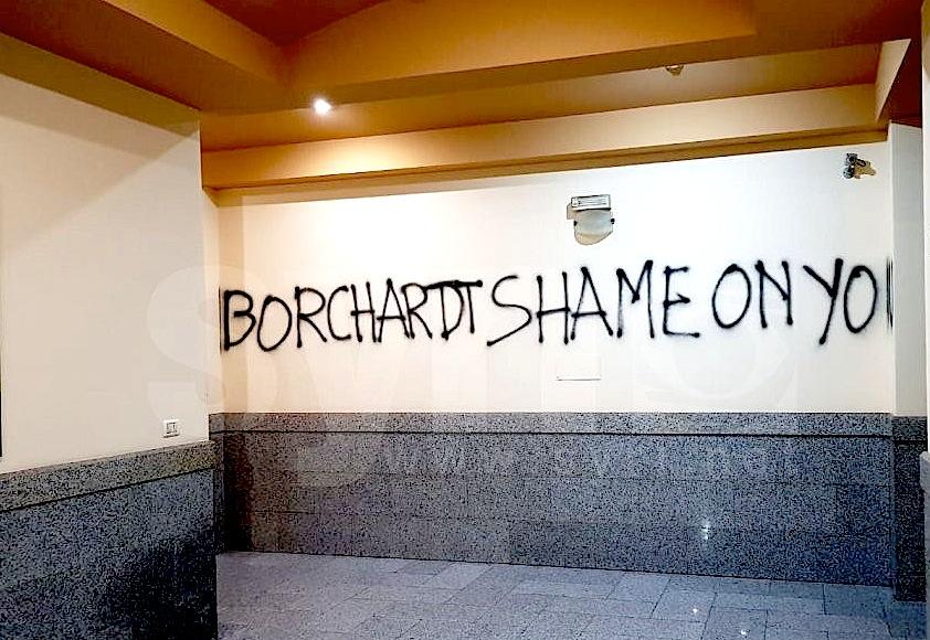 E shkruar ndaj Borchardt - përfaqsues i OSBE në Tiranë