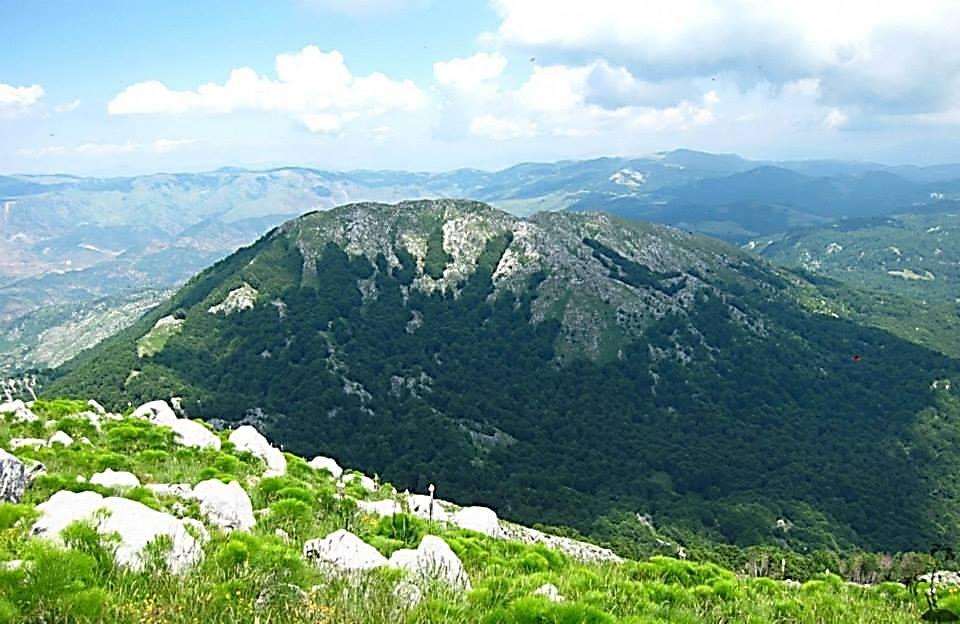 Mali Snoi i Vogël i fotografuar nga maja e Snoit të Madh