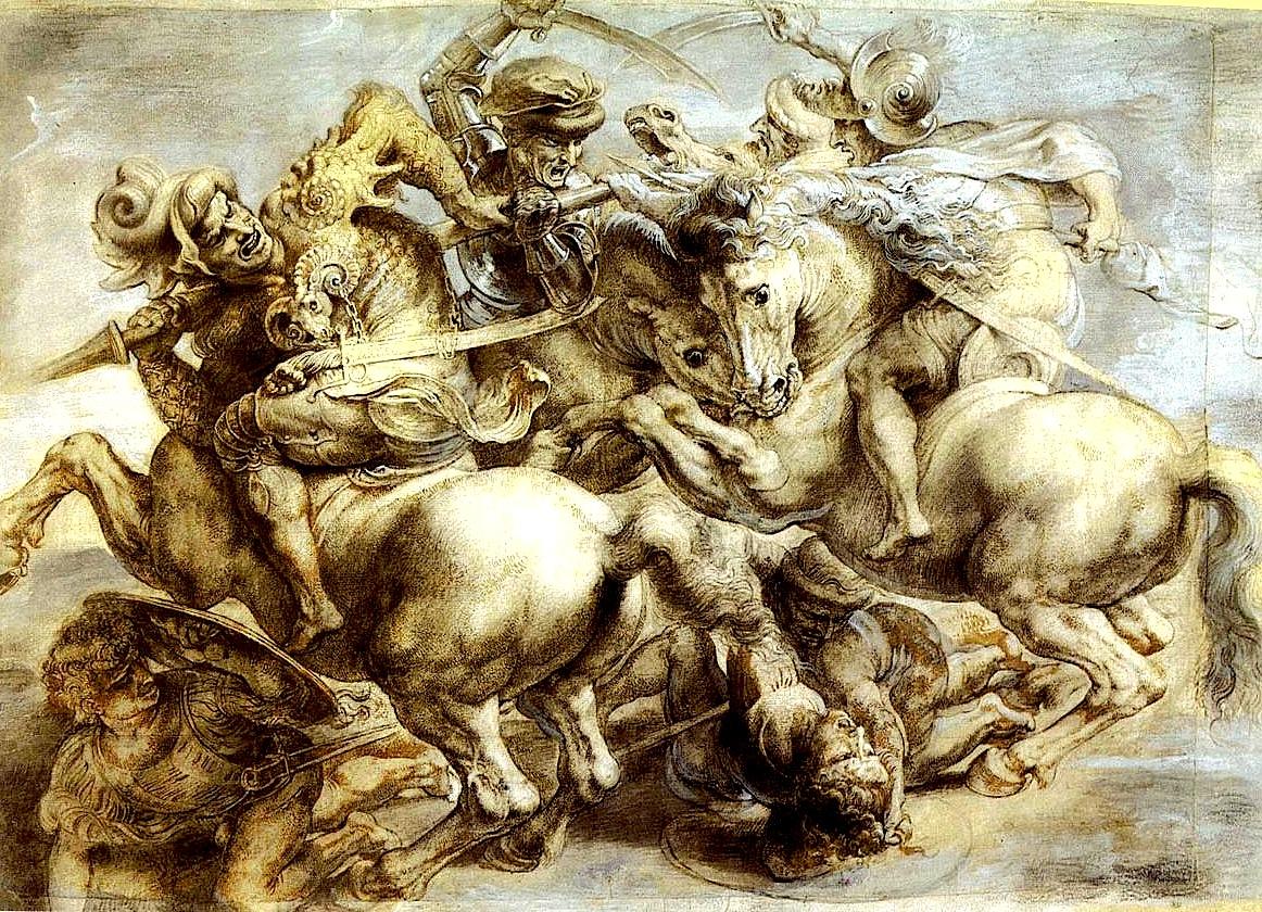 Leonardo Da Vinci  - Beteja e Anghiari