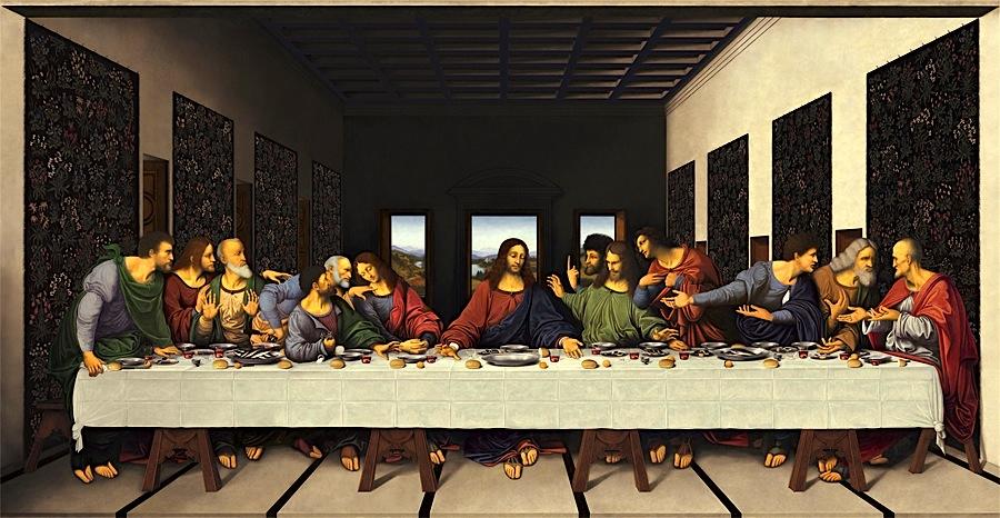 Leonardo da Vinçi - Darka e Fundit