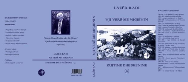 """Lazër Radi – """"Nji verë me Migjenin"""" - 2019"""
