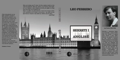"""Leo Ferrero - """"Sekreti Anglisë"""" - Përkth. Lazër Radi"""
