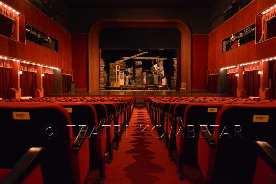 Pamja e sallës së Teatrit Kombëtar