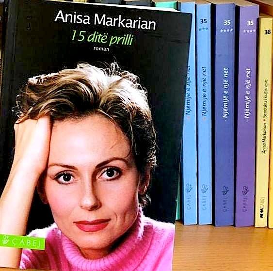 Anissa Markarian - 15 ditë prilli - Roman