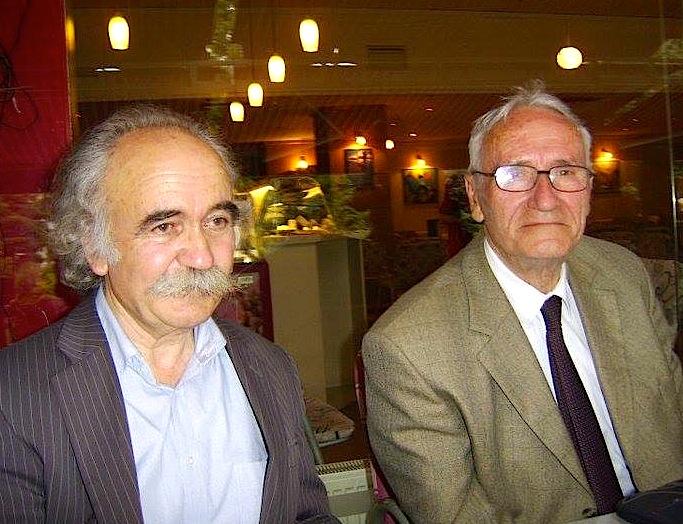 Profesor Prend Buzhala & Rexhep Hoxha