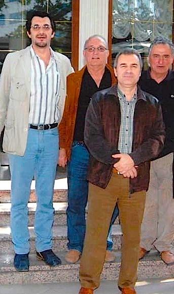 Me tre legjendat e Tironës: Fatmir Frashëri, Ali Mema e Petrit Dibra