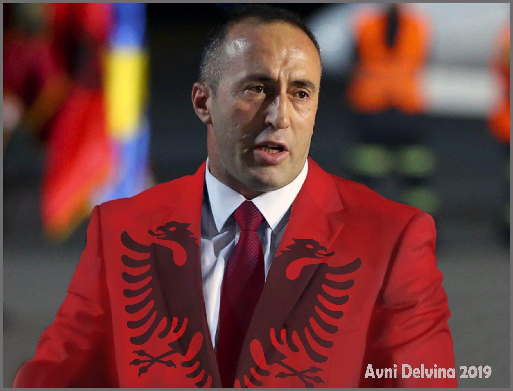 Ramush Haradinaj - aplikim nga Avni Delvina