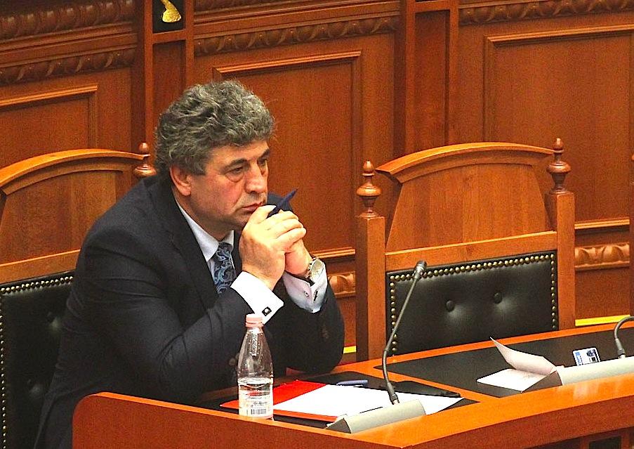 Agron Tufa në seancë Parlamentare