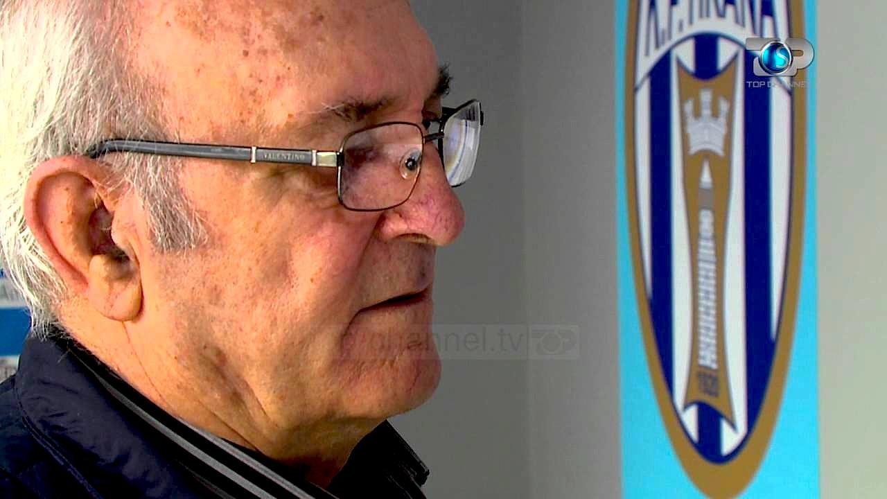 Futbollisti Fatmir Frasheri (1941-2019)