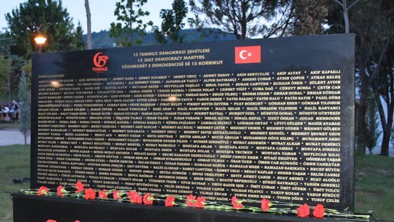 Memoriali i Viktimave të Grushtit të Shtetit në Turqi