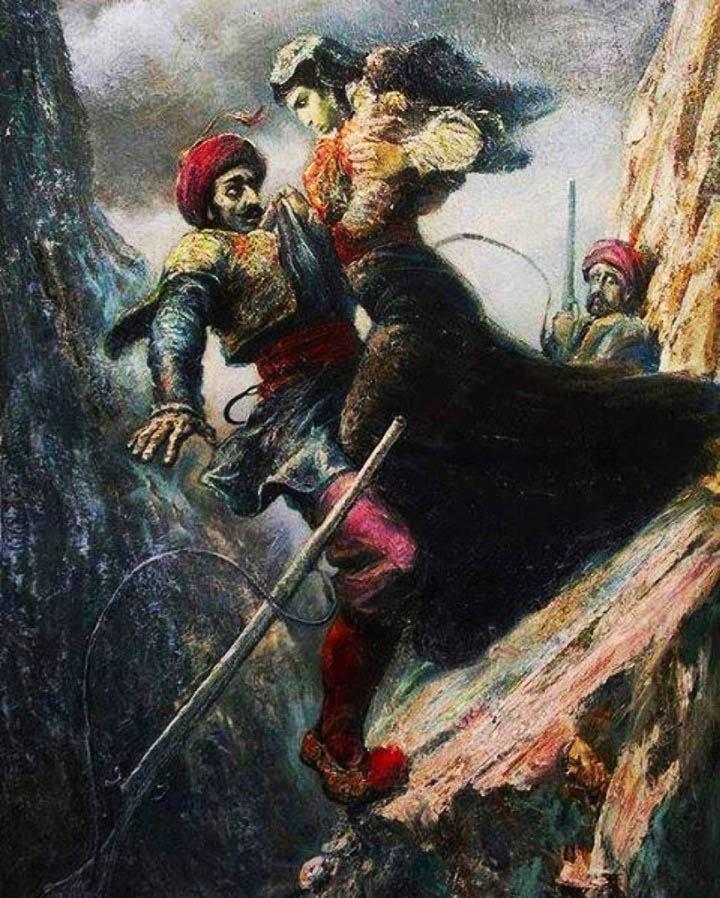 """""""Maro Konda"""" - Pikturë e Llazar Taçit,"""