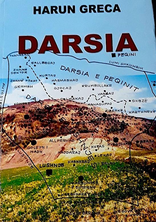 """Libri """"Darsia"""" i autorit Harun Greca"""