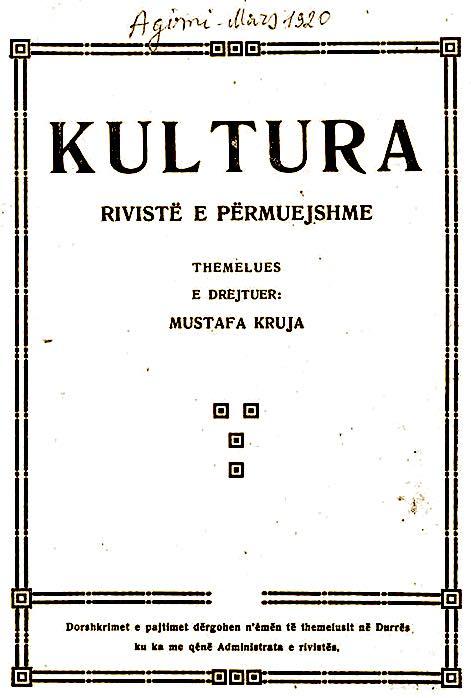 Revista Kultura - 1920