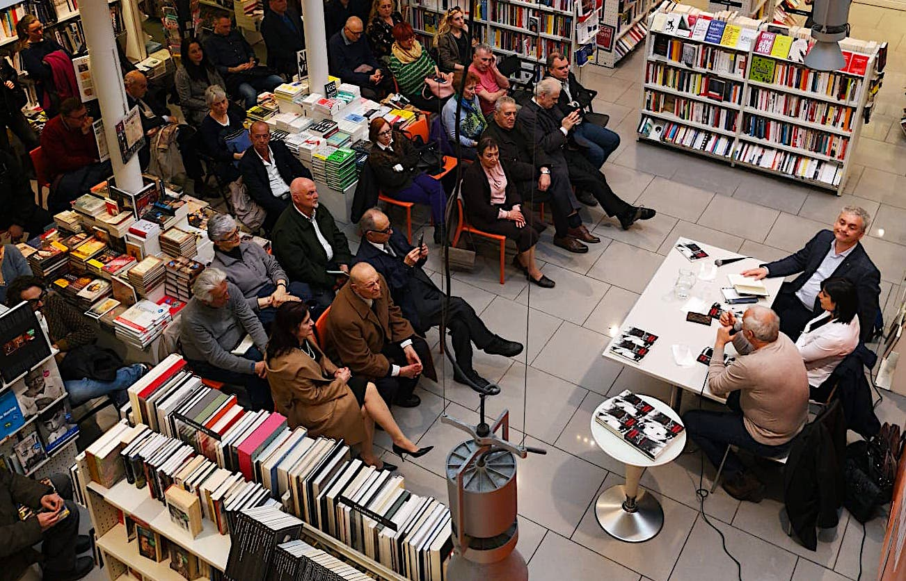 "17 prill 2019 - Firence - Libri ""Kohe e Mohueme"" - Denata Ndreca"